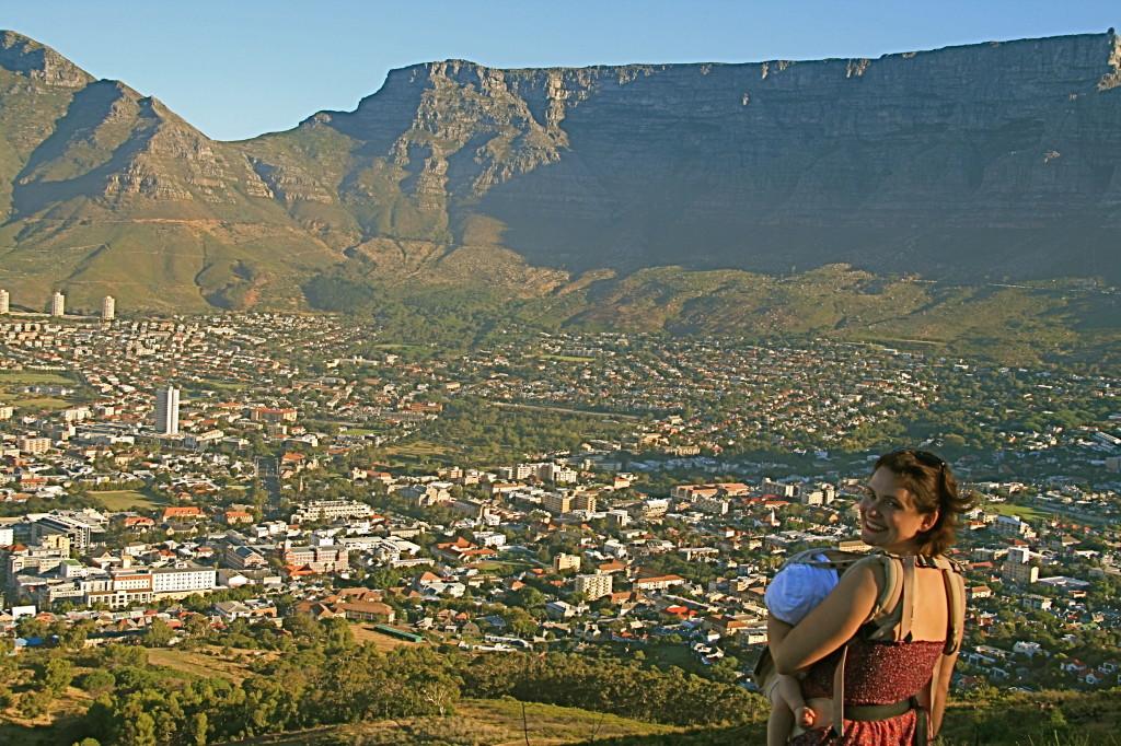 Südafrika mit Kindern: Auf dem Signal Hill (Kapstadt)