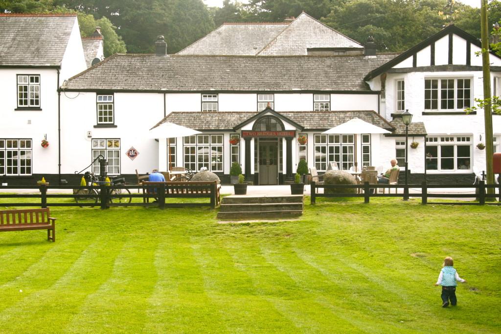 Kinderfreundliches Hotel im Dartmoor (Südengland)