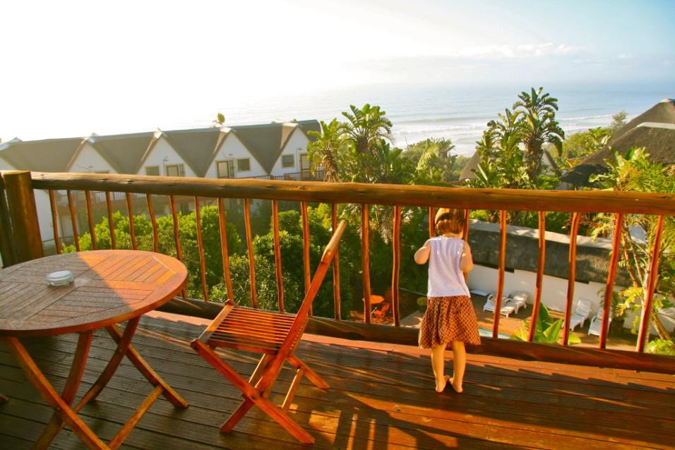 Auf der Suche nach Affen: Crawfords Beach Lodge (Südafrika)