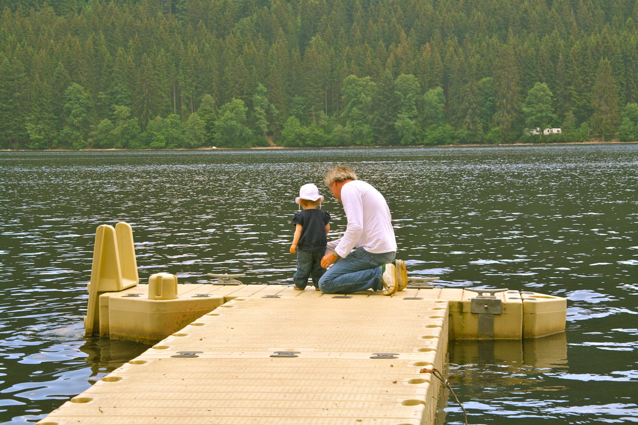 Mit Kindern am Titiseee im Schwarzwald