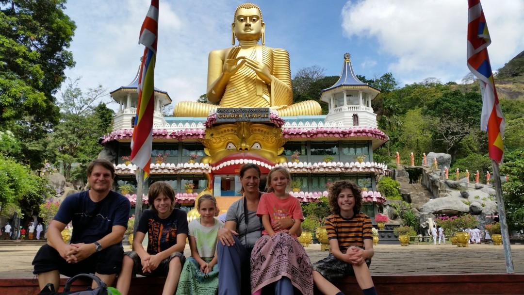 Familie Conradi in Sri Lanka