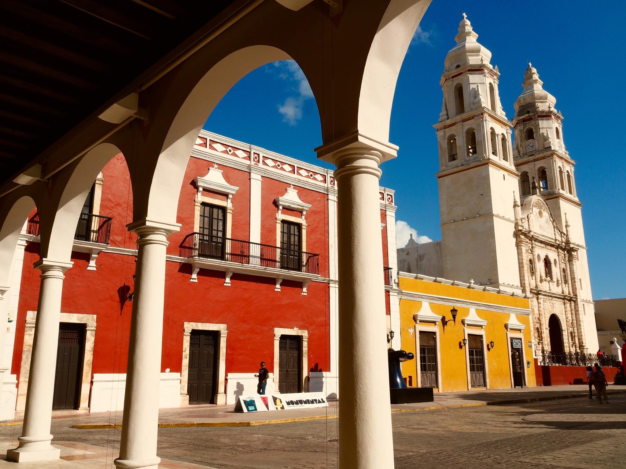 Koloniales Schatzkästchen Campeche