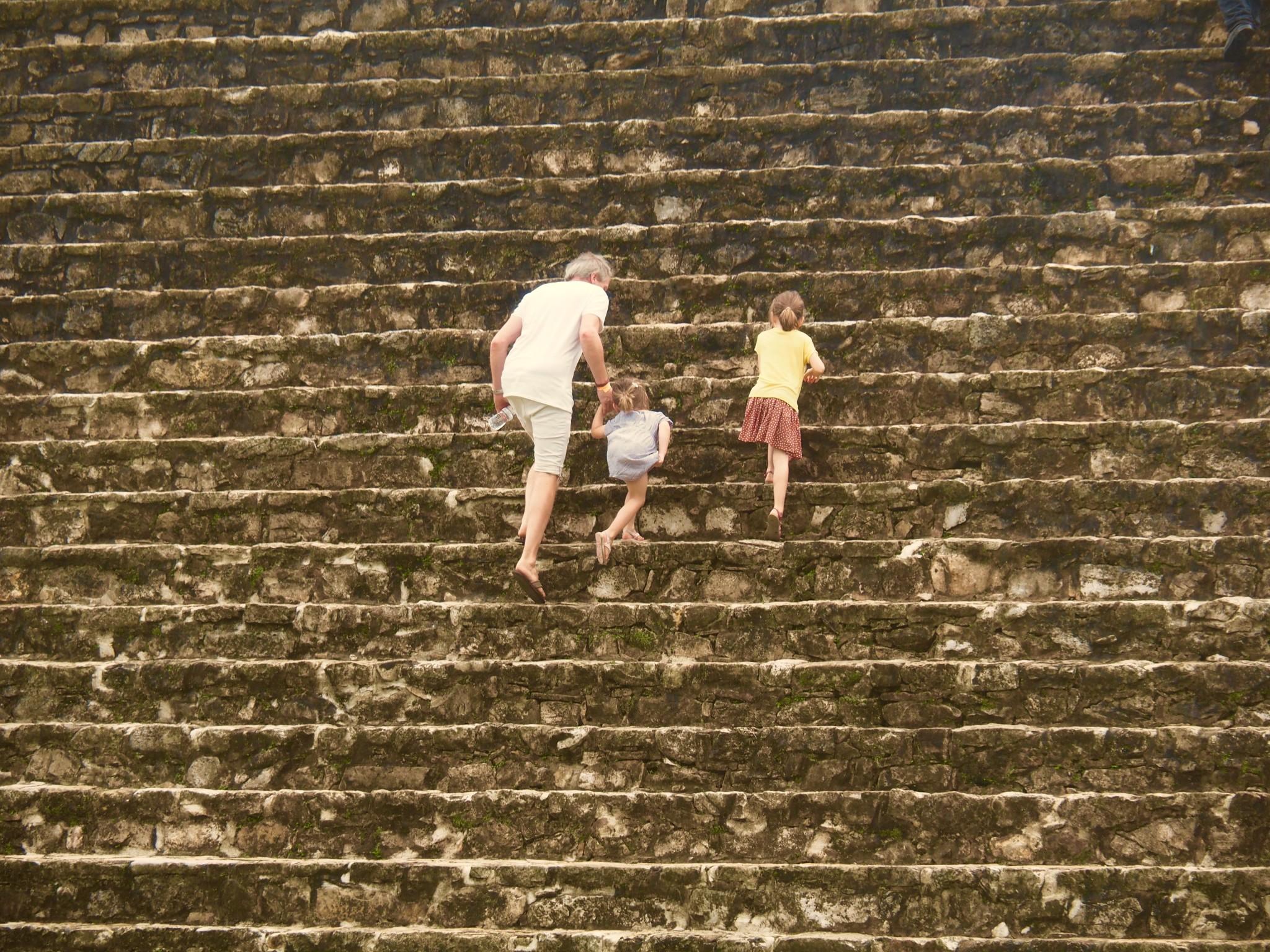 """Den """"Palast"""" von Palenque darf man erklimmen"""