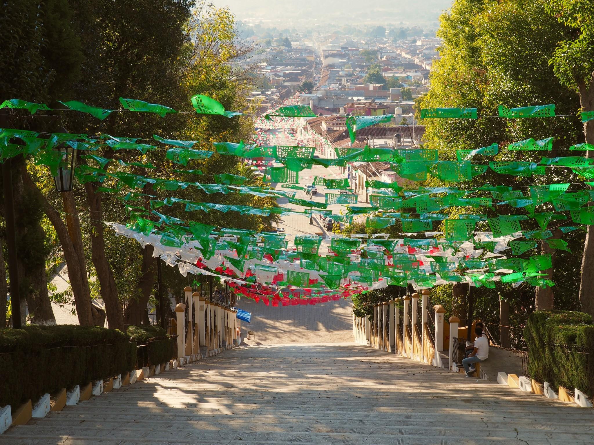 Blick auf San Cristobal de las Casas
